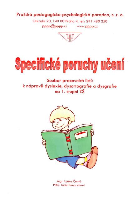 Specificke Poruchy Uceni Pracovni Listy Dys Centrum Praha Z U